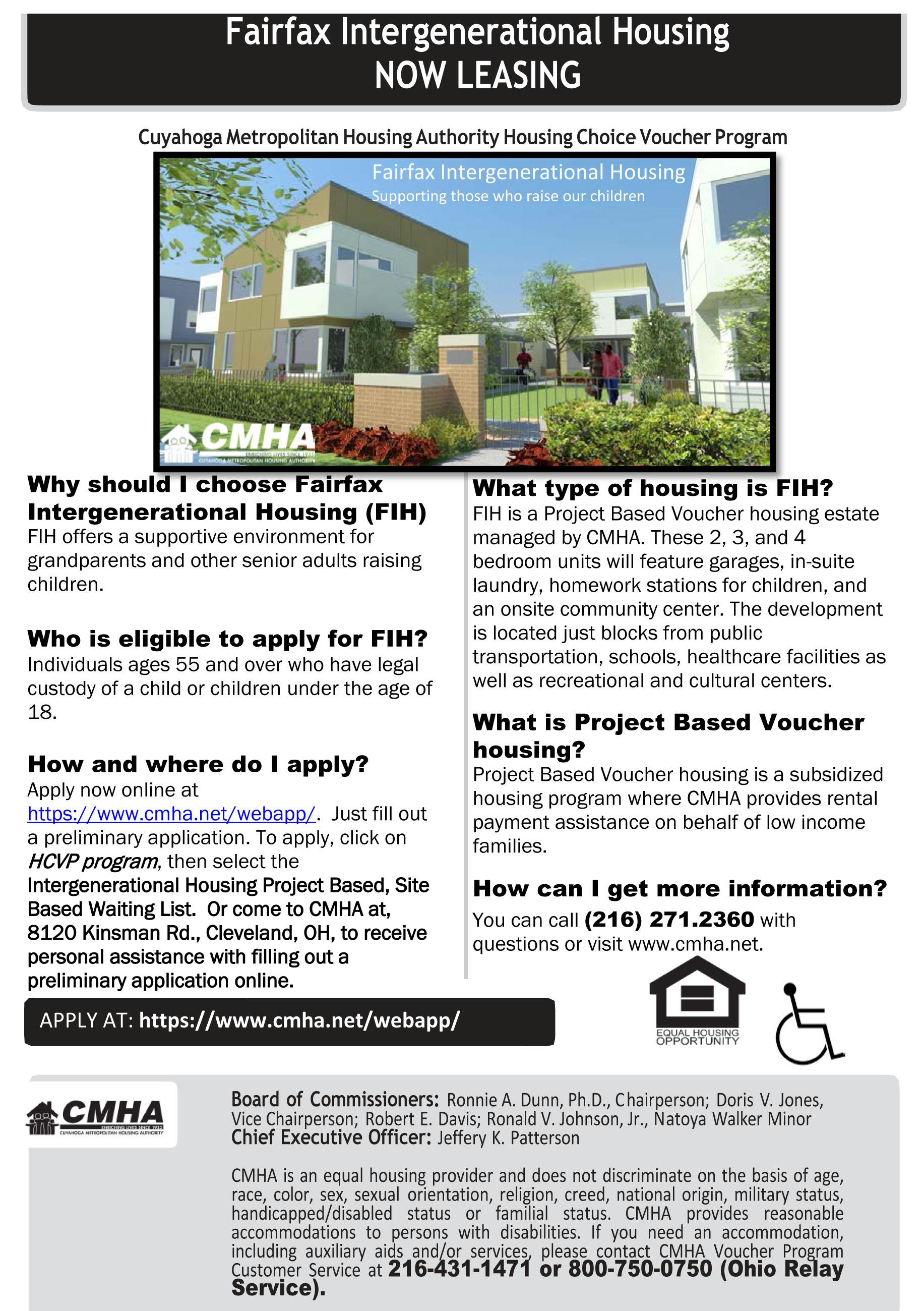 Fairfax Intergenerational Housing