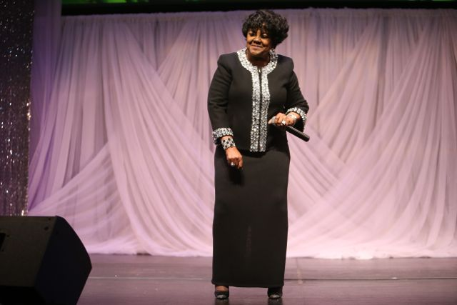 Shirley Caesar at Lamplighter Awards