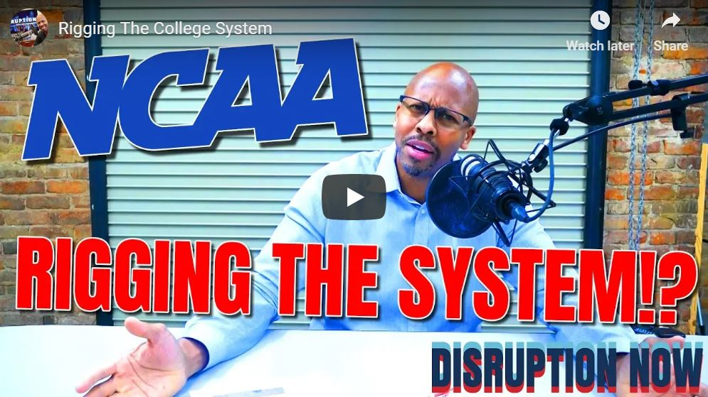 Disruption Now Rigging the System
